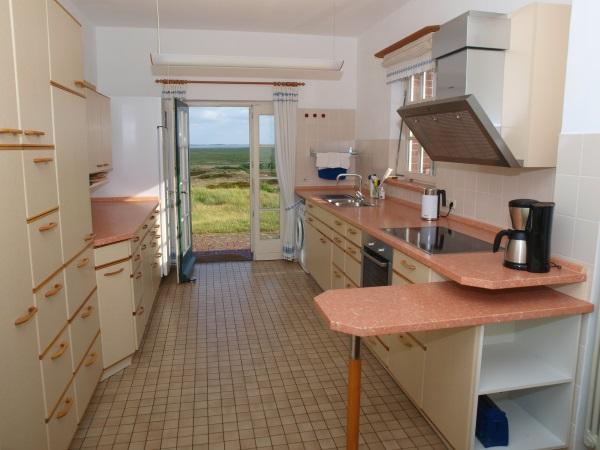 Die Küche - Gästehaus Klasing